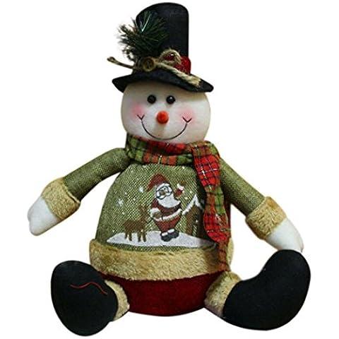 Juguete Del Bebé, Oyedens Muñeca de muñeco de nieve de Santa Claus de Navidad