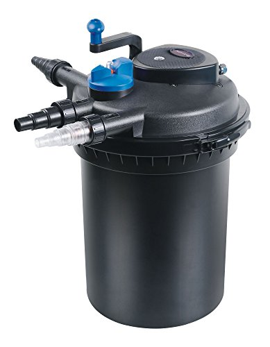 SunSun CPF-10000 Druckteichfilter UVC 11 W 10000 L/h Teich Filter Teichfilter