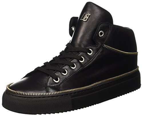 Bikkembergs Damen Doll-Er Db 800 Mid Shoe W Leather High-Top, Schwarz (Nero), 39 EU