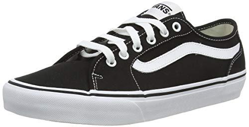 Vans Herren Filmore Decon Sneaker, Schwarz ((Canvas) Black/White 187), 42 EU