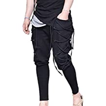 oneforus Pantalones renacentistas Medievales para Hombre 4fdf07ac2482