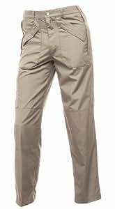 Regatta Mens Work Walking Water Repellent Cargo J170 Action Trousers II, Lichen