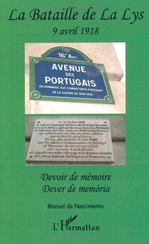 La Lys : Devoir de mmoire, dition bilingue franais-portugais