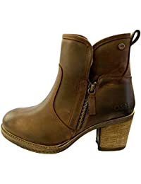 5c58c67ce1 Oak & Hyde - East Side - Brown Fur Lined Leather Ankle Boots