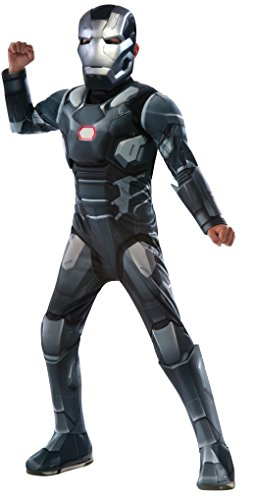 Deluxe War Machine - Captain America Civil War - Kinder Kostüm - Medium - 132cm - Alter (Kostüm War Machine)