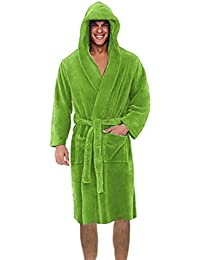 ca14fe7155 Amazon.co.uk  Green - Dressing Gowns   Kimonos   Nightwear  Clothing