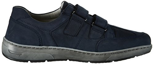 Waldläufer 365301 , Scarpe con Velcro Uomo Blu (Marine)