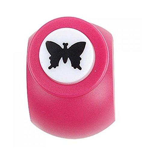 NaiCasy Motiv Punch Butterfly zum Stanzen von Papierfalter für Sammelalben, Karten, 15mm Karte Machen Scrapbooking Craft Punch Papier Shaper - Schmetterling 15 mm
