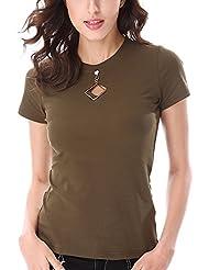 Keno camiseta mujer de verano - 95% algodón - T shirt - S
