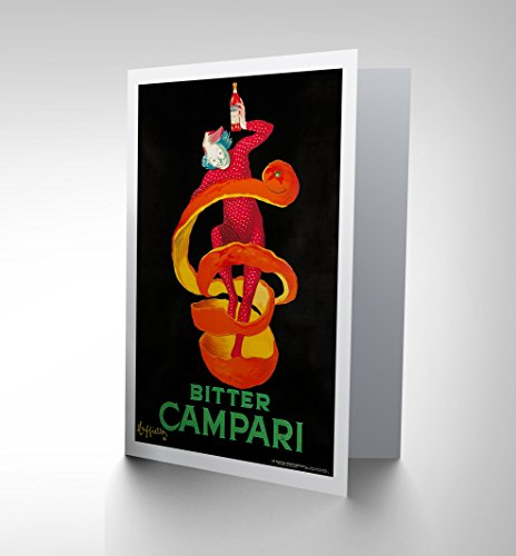 advertising-bitter-campari-1921-home-birthday-blank-greetings-card-cp1032