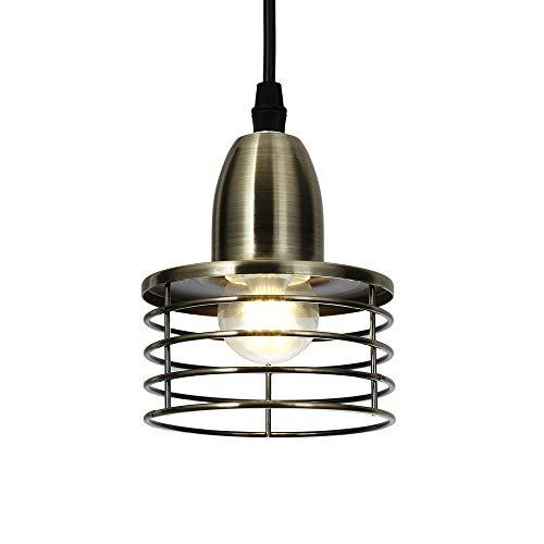 Schlafzimmer Loft (Hängelampe Vintage Lampe Eisen Persönlichkeit Loft Lampe Hängelampe Antik Lampen Vintage Lampenfassung e27 Loft Lampe Für Kitchen Flur Wohnzimmer Bar Esszimmer)