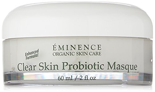 Eminence Organic Skincare Clear Skin Probiotic Masque, 2 Fluid Ounce by Eminence Organic Skin Care