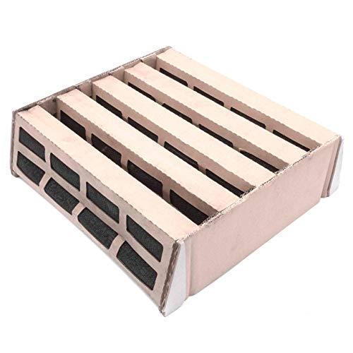 vhbw Ersatzfilter Luftfilter Gas- und Geruchsfilter für IQAir HealthPro 150, 250, 250NE, Plus Luftbefeuchter, Luftreiniger