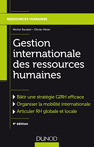 Gestion internationale des ressources humaines - 4e éd. (RH master t. 1) (French Edition)