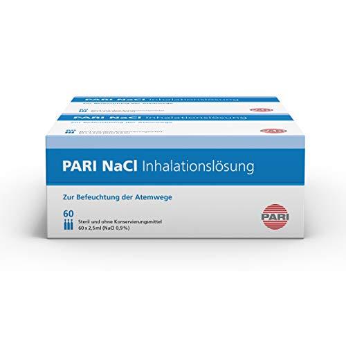 PARI NaCl Inhalationslösung 2 x 60, 2er Pack