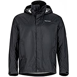 Marmot 41200-001-4 Precip Jacket - Black, Medium