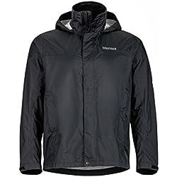 Marmot 41200-001-4 Precip Jacket - Black, Medium