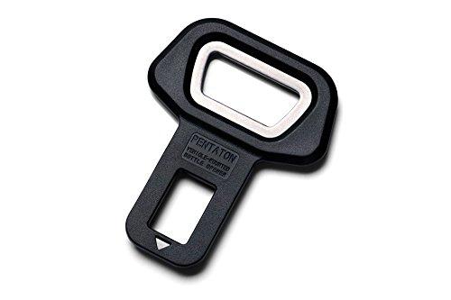 Pentaton Anti Gurtwarner mit integriertem Flaschenöffner, Sitz-Alarm Stopper, Gurtalarm Stopper, Gurtzunge (1-Stück)