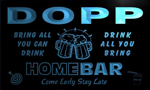 q11994-b-dopp-family-name-home-bar-beer-mug-cheers-neon-light-sign