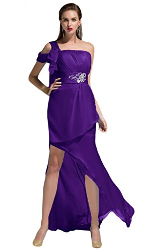 Sunvary scoop ritratto guaina elegante velato Pageant Prom Gowns Charming Blue 30W