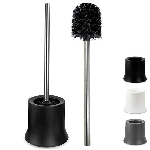 KLINOO Premium Set Toilettenbürste schwarz Bürstenkopf mit