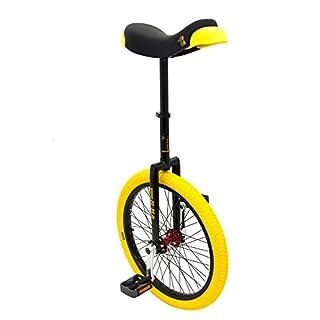 Qu-ax Einrad Kid 's CP Professional Freestyle Einrad, schwarz, 20