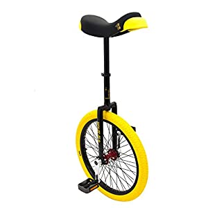 Qu-ax Einrad Kid s CP Professional Freestyle Einrad, schwarz, 20