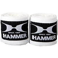 Hammer - Vendaje para boxeo wieß Talla:4.5 M