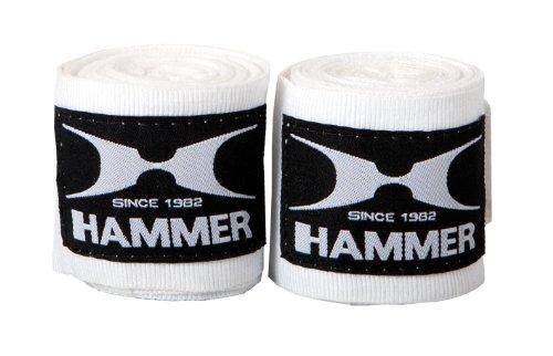 Hammer Boxbandage Elastisch 89106, 2.5 m, weiß