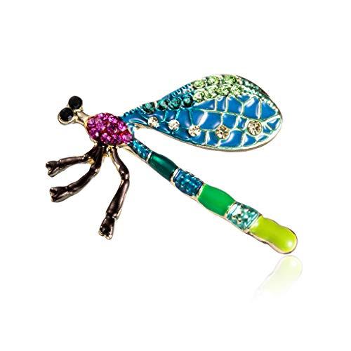 nstecknadeln Für Damen,Cartoon Blau Insekt Kakerlake Brosche Strass Stifte Für Frauen Mantel Schal Schnalle Vintage Kleidung Accessoires Schmuck Anstecker Pin ()