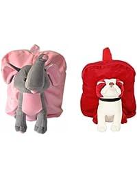 MGP Premium Play School Elephant & Red Pug Dog Bag