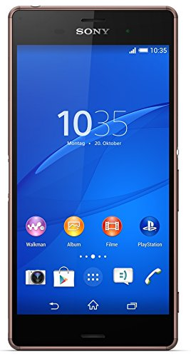 Sony Xperia Z3 Smartphone (13,2 (5,2 Zoll) Touch-Display, 16 GB Speicher, Android 4.4) kupfer (Z3 Handy)