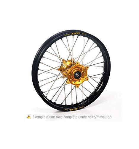 Roue avant rm125/250 99-08 21x1,60x36t, jante noire m... - Haan wheels HW7730232