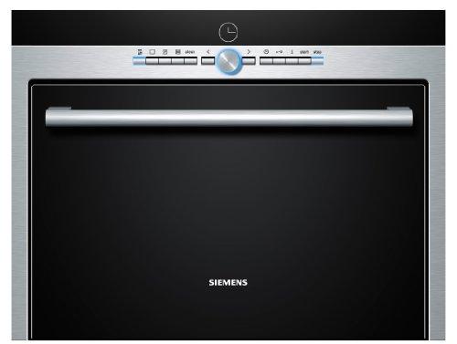 Siemens HB26D555 Einbau-Dampfgarer / 38 L / Edelstahl / Entkalkungsprogramm / Sicherheitsabschaltung
