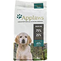 Applaws Dry Puppy Food Chicken Small & Medium Breed, 2kg