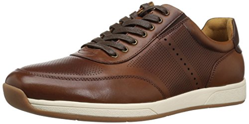 Florsheim Men's Fusion Moc Toe Lace up Oxford, Cognac, 7.5 M US Fusion Moc Toe