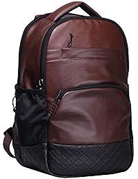 F Gear Luxur Brown 25 liter Laptop Backpack