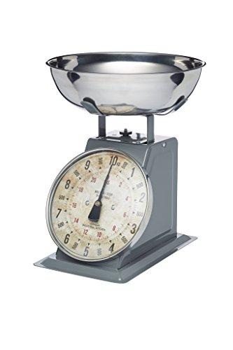Bilancia meccanica da cucina Kitchencraft Industrial Kitchen, stile industriale, 10kg, color grigio.