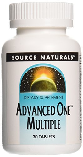 Source Naturals Shop (SOURCE NATURALS | Advanced-OneTM Multiple | 30 vegane Tabletten | glutenfrei)