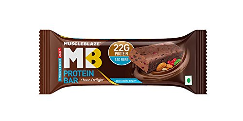 MuscleBlaze Protein Bar (22g Protein)-Chocolate Delight