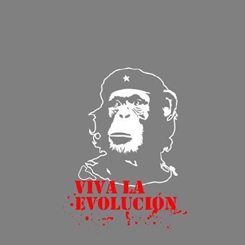 Viva la Evolución - Herren Langarm T-Shirt Blau