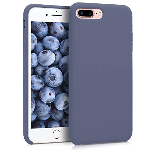 kwmobile Apple iPhone 7 Plus / 8 Plus Hülle - Handyhülle für Apple iPhone 7 Plus / 8 Plus - Handy Case in Lavendelgrau