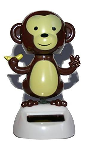 Solar-Powered Dancing Monkey