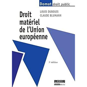 Droit matériel de l'Union européenne, 7ème édition