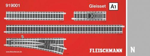 Fleischmann 919001 Gleisset A1 (Spur Modelleisenbahn N)
