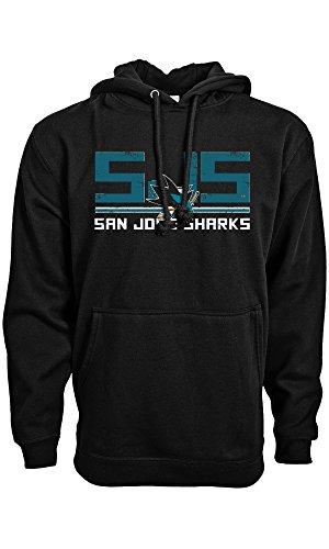 Levelwear NHL SAN JOSE SHARKS Scoreboard Pullover, Größe :L