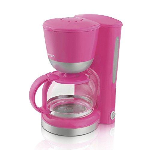 41KWuAu1K7L. SS500  - Good Quality Electric 730-870W 1.25 Litre (10-12 cups) Coffee Maker, Pink