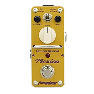 Tom'sline APN-3 Plexion Brit-Stack Simulator Distortion Guitar Effects Pedal