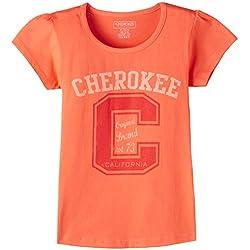 Cherokee Girls T-Shirt (400014594630_Peach_13Y)