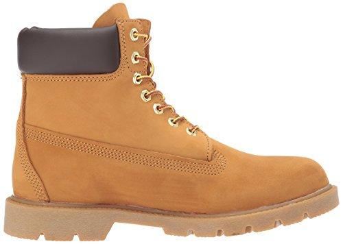 Timberland Mens 6 Basic Contrast Collar Boot Wheat Nubuck